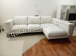 for ikea l shape sofa set in doha