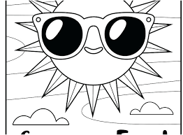 Kids Printable Coloring Pages Kids Coloring Pages Summer Fun