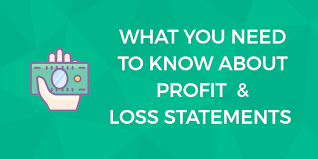 Profit And Loss Statments Profit Loss P L Statements What Every Small Businesses Owner