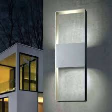 exterior wall lights modern outdoor lighting with motion sensor contemporary outside uk full size modern exterior wall lights l84