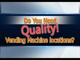 Vending Machine Locator Service Enchanting VENDING LOCATOR SERVICES YouTube
