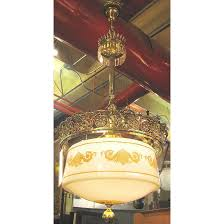 Large light fixtures Large Black 610292 Large Scale Antique Light Fixture With Milk Glass Globe Unrestored Mktefinfo 610292 Large Scale Antique Beaux Arts Ceiling Light Fixture With