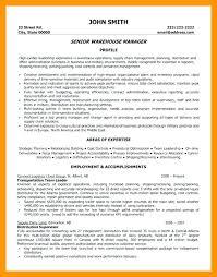 Warehouse Supervisor Cover Letter Example Warehouse Resume Cover Letter Mwb Online Co