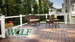 wolf composite decking. Exellent Wolf About WOLF PVC Decking For Wolf Composite L