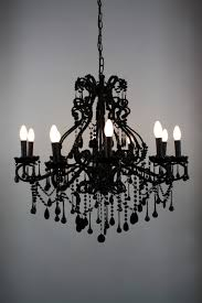 black chandelier pottery barn