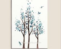 romantic love bird wall art 5 x 7 print nature inspired blue on nature inspired wall art with nature wall art yasaman ramezani