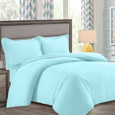 nestl bedding duvet cover protects and covers your comforter duvet insert luxury 100 super soft microfiber twin size color aqua light blue