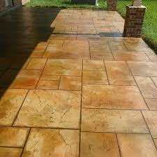 stamped concrete sealing companies unique 2018 flagstone patio installation cost homeadvisor