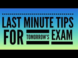 last minute advice for tomorrow s lit paper exam last minute advice for tomorrow s lit paper 2 exam