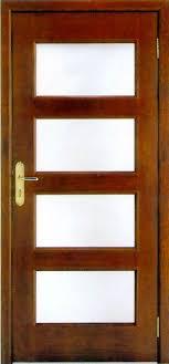 wood glass doors 2