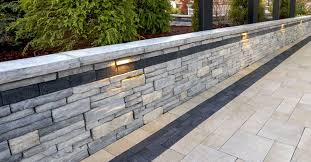 retaining wall options for modern homes in central illinois