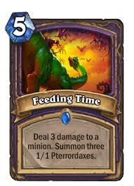 <b>Feeding Time</b> | Hearthstone Wiki | Fandom