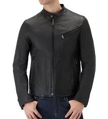 7 for all mankind biker leather jacket