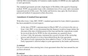 standard investment contract angel investor agreement template or business contract template