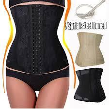 Us 11 03 Women Invisible Waist Trimmer Cincher Trainer Girdle Slim Control Corset Shapers Workout Body Shaper Tummy Fat Burner In Waist Cinchers