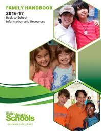 2016 17 Edina Public Schools Family Handbook By Edina Public