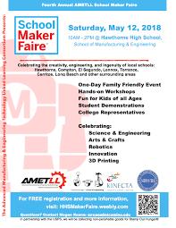 School Poster Maker Amtell School Maker Faire Flyer Yr4 Iusd