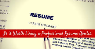Professional It Resume Writers Is It Worth Hiring A Professional Resume Writer 12 Reasons Wisestep