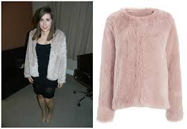 next pink faux fur jacket 48 00