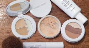 sheer cover studio mineral makeup application flawlessfinish sheercover