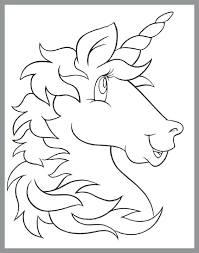 Coloring Pages Free Printable Unicorn Coloring Pages To Print