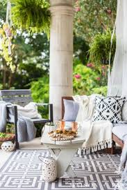 Black And White Patio Design Ideas Black And White Fall Porch Decorating Ideas Maison De Pax