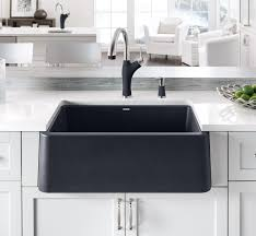 Kitchen Sink Apron Front Sink With Faucet Holes Farmhouse Sink