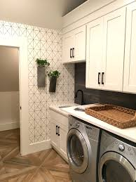 Laundry Room Wallpaper Designs 2017 Design Trends And Tips New House Redo Laundry Room