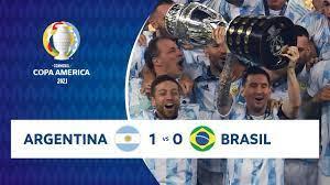 HIGHLIGHTS ARGENTINA 1 - 0 BRASIL | COPA AMÉRICA 2021 |