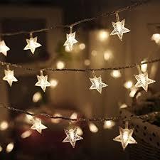 Twinkle Star 100 LED 49 FT Star String Lights, Plug in ... - Amazon.com