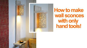 wall sconce lighting ideas. Small Living Room Lighting Ideas How To Make A Wall Lamp Sconce, Home Decor, Sconce C