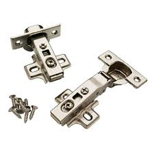 Full overlay Cabinet Hinges Cabinet Hardware The Home Depot