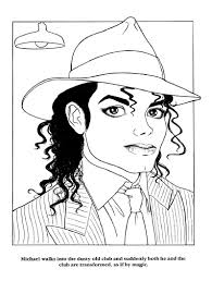 Page 21 Moonwalker Color Book Coloring Pages Michael Jackson