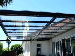 glass roof over pergola outdoor with plans waterproof arbor panels verandas terrace cover examples elegantly