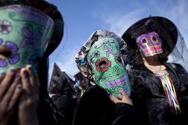 dia de los muertos or the day of the dead is a mexican