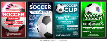 soccer team brochure template royalty free sports league flyer images stock photos vectors