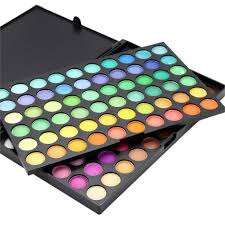 2016 hot new arrival 120 full colors colorful eye shadow makeup palette set cosmetic