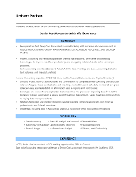 Resume For Cpa Markone Co Sample Accounting Image Examples Resume