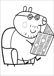 Small Picture Peppa Pig Para Colorear Best Coloring Pages For Kids