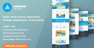 Template Websites Gorgeous Kingdom HTML Template For Hotels By ThemeWala ThemeForest
