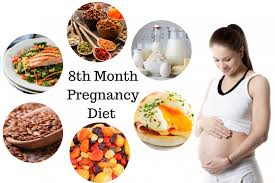 Diet Chart During 8th Month Of Pregnancy Pregnancy Diet Chart Month By Month Pregnancy Food Chart