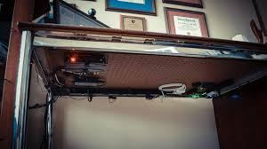 home office desk cable management daniel vreeman under desk wire management