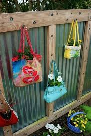 handbags backyard fence decor outdoor wedding decorations ideas for decorating your garden
