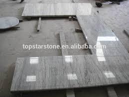 white granite floor tile river white