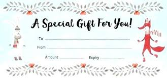Print Your Own Gift Vouchers Free Printable Templates Make Card