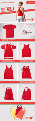 T Shirt Design Ideas Cutting Learn How To Turn An Old T Shirt Into The Perfect Workout Top Visit