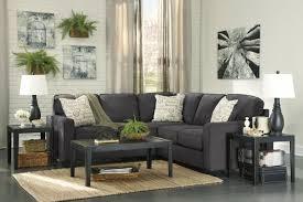 gray fabric sectional sofa. Alenya Grey Fabric Sectional Sofa Gray