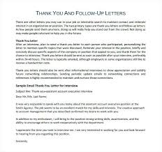 Thanks Letter After Phone Interview Sample Follow Up Thank You Letter After Phone Interview Email