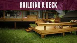 How to build a deck video Steps Now Playing Diy Network How To Build Deck Diy