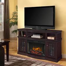muskoka sutton media electric fireplace stand espresso stands kit flat panel big lots mantel bedroom wall